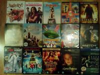 15 film DVD collection (12 family and 3 rated 15+)