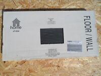 Homebase Porcelain Vision Black R63 and Ivory R62 Floor/Wall Tiles 300x600mm