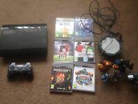 PS3 superslim 12GB black console
