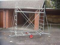 Hi-step Garden ladder Hedge cutting Platform