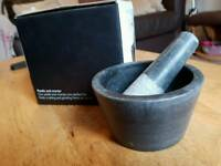 Mortar and pestle
