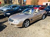 Mercedes Sl 350 3.7 55 reg convertible low mileage leather interior excellent condition px welcome