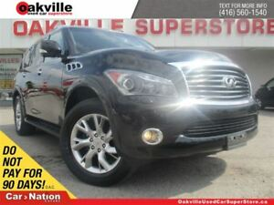 2013 Infiniti QX56 LEATHER | SUNROOF | 7 PASS | NAVI | DVD