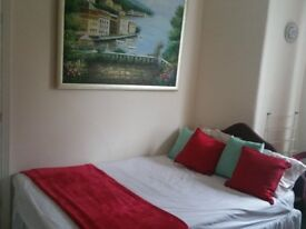 Quiet Double room 10 mins near Tooting Broadway Tube Station