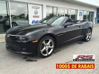 2014 Chevrolet Camaro 2LT/RS/ DÉCAPOTABLE