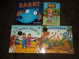 Children's modern books in excellent condition