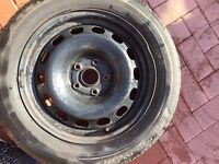 car rims and tyre 205/60R16