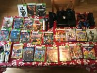 Xbox 360 Console with 22 games, Kinect, etc