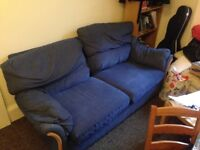 Blue sofa - pickup only