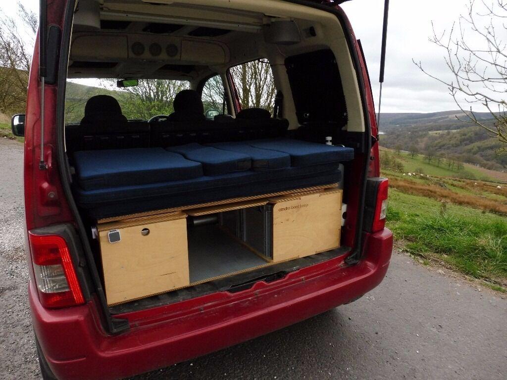 campervan conversion kit amdro boot jump for berlingo kangoo doblo partner in whaley. Black Bedroom Furniture Sets. Home Design Ideas