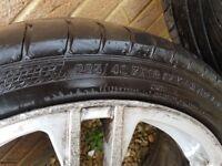 Alloy Wheels off Audi TT