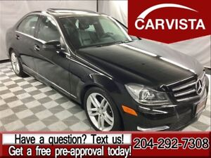 2014 Mercedes-Benz C-Class C300 4MATIC -ONE OWNER/NO ACCIDENTS-