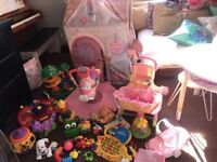URGENT CLEARENCE Bundle of Toys, Walker, Playhouse, Fisher Price Pushchair etc NW6