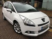 XL, 7 Seats MPV PCO car for Hire/Rent, Peugeot 5008, Diesel, Automatic, similar Sharan/Galaxy/Prius