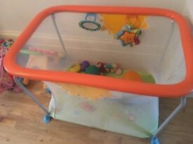 Box Brevi Soft & Play Playpen (retail price GBP 109)