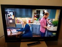 """Great condition 37"""" SONY BRAVIA LCD TV full hd ready 1080p, freeview inbuilt"""