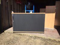Office Tambour Cupboard