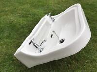 Vintage shanks wash hand basin