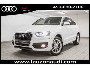 2015 Audi Q3 2.0T TECHNIK CAMERA BOSE ANGLE MORTS