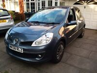 ****2008 58 reg Renault Clio Automatic VVT Expression 5dr full history low miles******