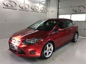 2012 Ford Focus Titanium / LEATHER / SUNROOF 18 RIMS