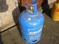 13KG CALOR PATIO empty gas bottle, - check on-line @ £45