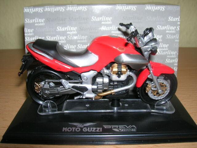 Starline Moto Guzzi Breva V 1100 V1100 iE rot red 1:24 Motorrad Moto Neu + OVP
