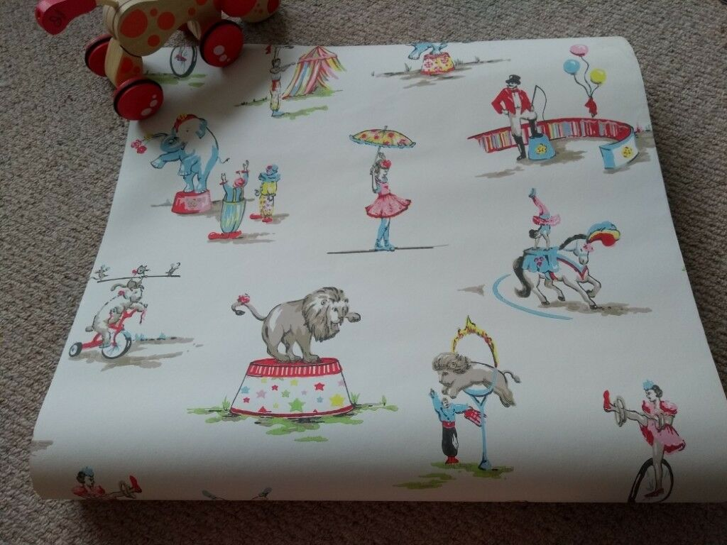 Cath Kidston Vintage Circus Design Wallpaper In Painswick Gloucestershire Gumtree