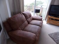 2 and 3 seater sofas + footstool