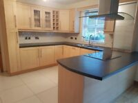 Beech Shaker Style Kitchen - NOW SOLD