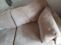 Sofa suite from Next. 2 seater, 1 seater & footstall