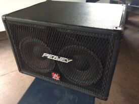 TVX210 bass enclosures fully equipped for frontline duty 30 Hz to 15 kHz and 350 watts