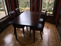 Marks and Spencer Dining Table and Chairs