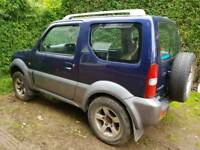 2006 suzuki jimny vvt engine . Breaking