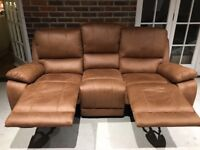 Reclining sofa recently purchased