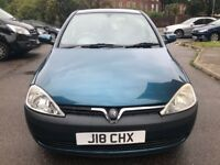 VAUXHALL CORSA 1.2, FULLY AUTOMATIC,2002, 1 YEAR M.O.T, 3 KEYS,1 PREVIOUS OWNER, F.S.H, LADY OWNER