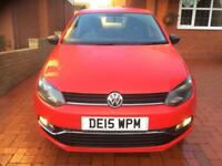 VW Polo 2015 Petrol Clean car