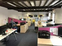 ✪ Desk Space to rent in central Godalming. Creative space, Suit Freelancer fr. £55pw. FREE Trial*