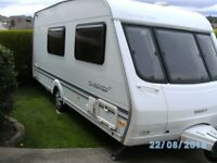swift challenger 530 se 4 berth, very good condition, light to tow