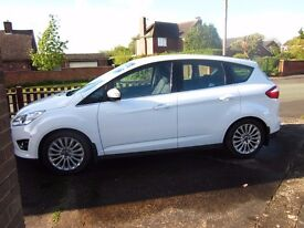 Ford C-MAX Titanium TDCi 5door MPV 63 plate IMMACULATE 22519 miles