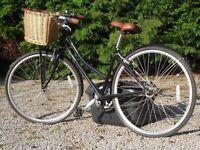 "Claud Butler city shopper classic ""Sandringham"" bicycle."