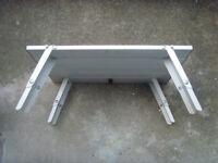 Small Folding Lightweight Aluminium Picnic Camping Table