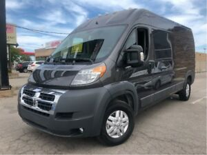 2018 Ram Promaster High Roof EXTENDED WHEEL BASE MODEL