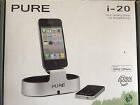 Pure i20 dock for iPod & iPhone