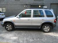 2003 Kia Sportage 4x4 MPV AUTO AUTOMATIC Jeep like Honda CRV HRV New Mot Low Mileage