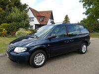Chrysler Voyager 2.4 LX (2005) Petrol MOT March 2018 Valeted - very clean 2 keys