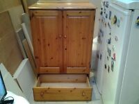 1990's Pine Wadrobe/ Multi Purpose Cabinet