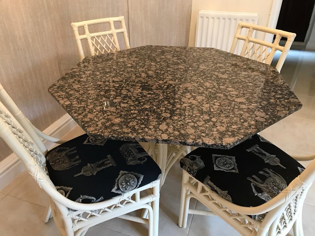 Granite Top Dining Table In Denton Manchester Gumtree