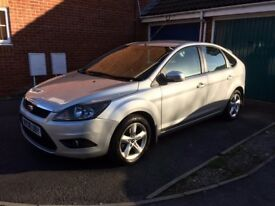 Ford Focus 2008 Petrol Manual Silver