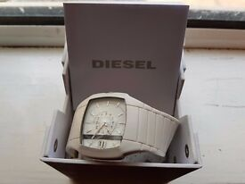 Diesel watch white rubber X white DIESEL